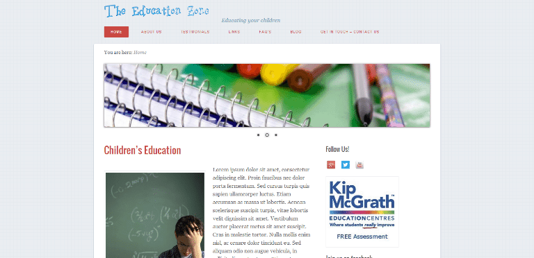 http://www.theeducationzone.co.uk/