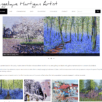http://www.angelique-hartigan-artist.co.uk/